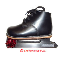 Our black baby skate - for your child to go to the ice skating rink.