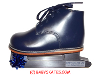 Our blue baby skate - for your child to go to the ice skating rink.