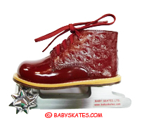 Our precious Candy Apple skate - for your toddler or child to take to the ice skating rink.