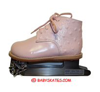 Our precious pink baby skate - for your toddler or child to take to the ice skating rink.