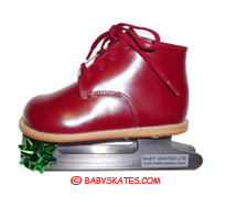 Our NEW Red Baby Skate - enables your walking child to go ice skating! Get your skates.